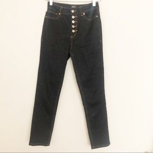 BDG High Waist Skinny Leg Sparkle Finish Jean